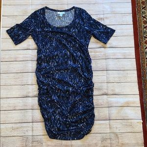 Motherhood Maternity | side ruched T-shirt dress
